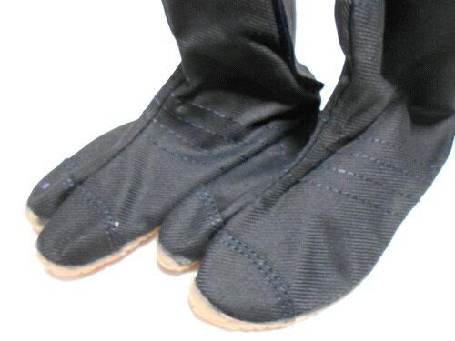地下足袋【子供祭りジョグ】【23cm】【丸五】【黒】【マジックテープ】【クッション入り】【エアー無