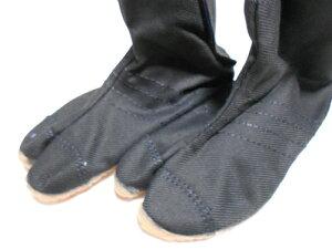 地下足袋【子供祭りジョグ】【22.5cm】【丸五】【黒】【マジックテープ】【クッション入り】【エアー無し】