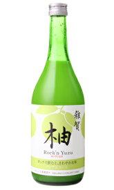 雑賀 ノンアルコール柚子 Rock'n Yuzu 720ml ノンアルコール 九重雑賀 和歌山県