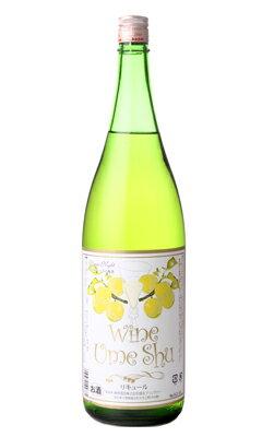 梅酒ワイン 白 1800ml