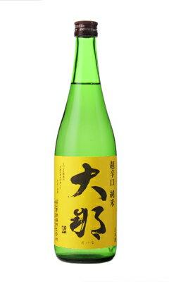 大那 超辛口 純米酒 720ml