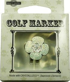 【普通郵便で送料無料】スワロフスキー付ゴルフマーカー(BG-11)Golf Marker with Swarovski