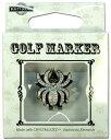 【普通郵便で送料無料】スワロフスキー付ゴルフマーカー(BG-14) Golf Marker with Swarovski