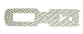 ハセプロ マジカルカーボン スマートキー専用カット ミツビシ レギュラーカラー(CKM-2)