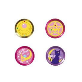 【4/1は独自ポイント10倍!】ハセプロ アルミボタンシール指紋認証対応セーラームーン 4種