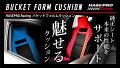 ハセ・プロレーシングバケットフォルムクッション