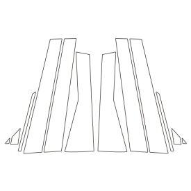 【19日〜21日はポイント10倍】ハセプロ《マジカルアートシート》ピラー スバル フォレスター SK系 2018.7〜