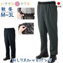 日本製 おしりスルッとパンツ 裏起毛 秋冬 M L LL 3L シニアファッション メンズ 紳士用 70代 80代 高齢者 服 あたた…