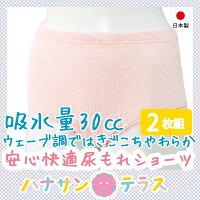 尿漏れショーツ失禁ショーツ30cc2枚組尿漏れ防止パンツ失禁対策パンツ