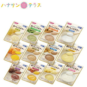 介護食 区分4 かまなくてよい おいしくミキサー おかゆ・おかず・デザートセット ホリカフーズ ミキサー食 ペースト食 なめらか 日本製 ユニバーサルデザインフード レトルト 介護用品
