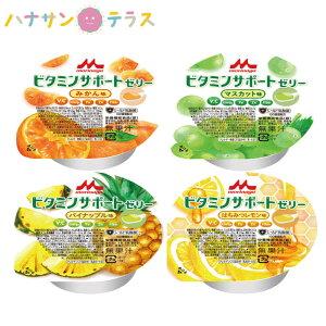 介護食 ビタミンサポートゼリー いろいろセット 78g×4種×6 クリニコ 森永 森永乳業 日本産 栄養補助 デザート 栄養補給 鉄