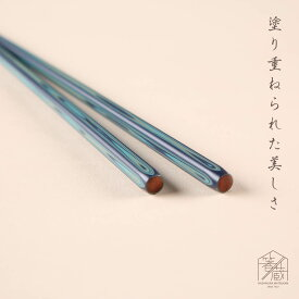 【メール便 送料無料】Sabi 堆朱 海 22.5cm お箸の専門店 箸蔵まつかん