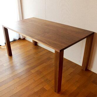 胡桃洁净的尺寸定做餐桌(接受订货生产的订货家具)