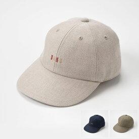 【ベースボールキャップ(野球帽)/DAKS(ダックス)】Cap Linen Ox D1608(キャップ リネン オックス D1609)≪メンズ/紳士/英国王室御用達ブランドの帽子 ナチュラル ネイビー カーキ 55cm 56.5cm 58cm 59.5cm あす楽≫