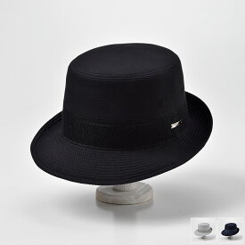春夏 ハット メンズ 紳士 帽子 大きいサイズ 折りたためる サファリ アルペン 散歩 登山 涼しい コットン ブラック ネイビー グレー S M L LL DAKS(ダックス) アルペンクールマックスD1661 父の日 送料無料 あす楽