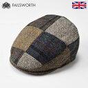 帽子 紳士帽 ハンチング キャップ メンズ レディース 秋 冬 秋冬 ハリスツイード ツイード 大きいサイズ 英国 イギリ…