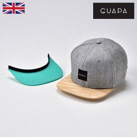 【セール】カジュアルキャップ 春夏 メンズ レディース 紳士 帽子 野球帽 大きいサイズ GUAPA グアパ Grey 6 Panel Cap Set A グレー6パネルキャップ セットA ギフト あす楽