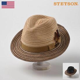 【高級ソフトハット/STETSON(ステットソン)】MANISH SH476(マニッシュ SH476)≪アメリカを代表する帽子ブランドが作る中折れ帽/ベージュ/ブラック/メンズ/レディース/紳士/帽子/ハット/あす楽≫