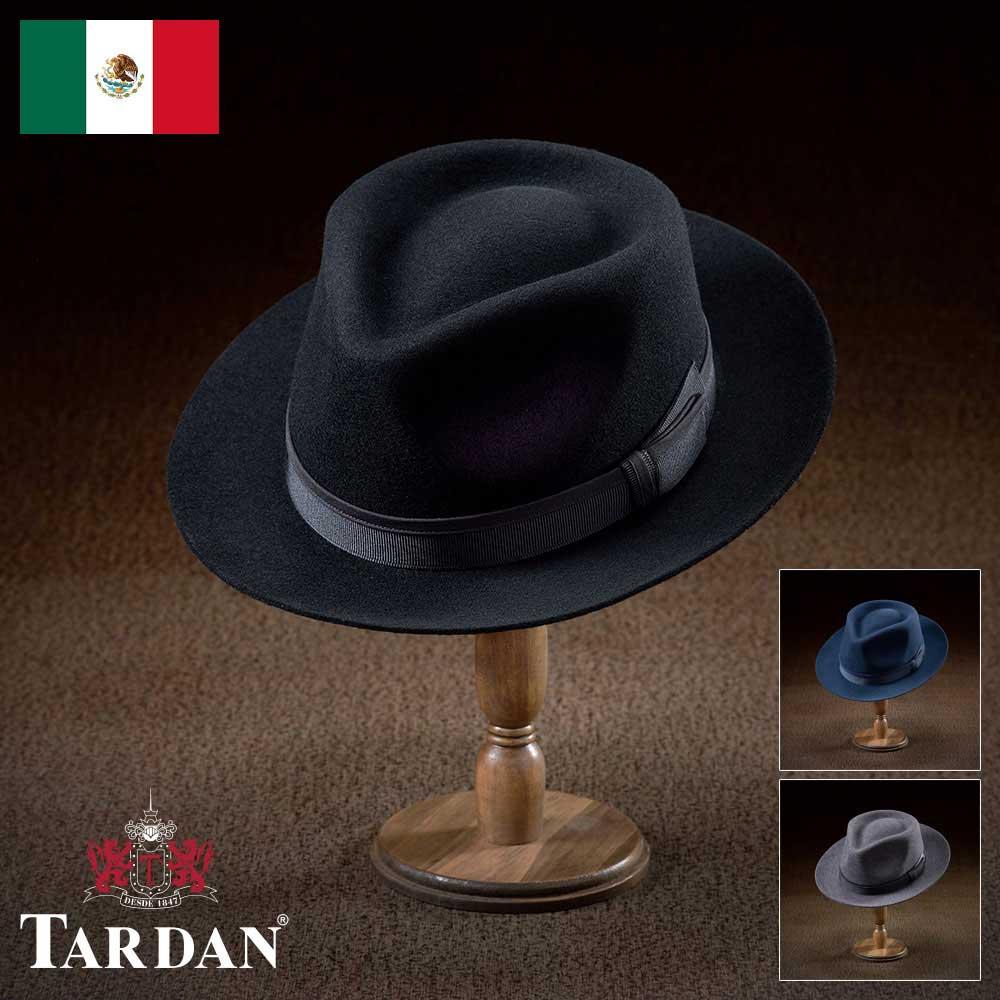【フェルトハット(フェルト帽)/TARDAN(タルダン)】CUBA WALTON(キューバ ウォルトン)≪老舗メキシコブランドのフェルトハット、ウール100%の型崩れしにくい中折れハット(中折れ帽)メンズ/レディース/紳士/帽子/ハット/大きいサイズ/父の日ギフト/あす楽≫
