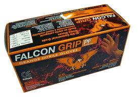 ファルコングリップグローブ(オレンジ) 90枚入り XLサイズ ★FALCON-GRIP-XL