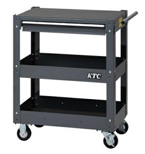 京都機械工具(KTC) ツールワゴン 3段1引出し グレー SKX2613GY