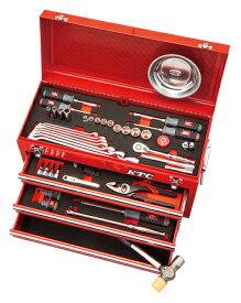 京都機械工具(KTC) ツールセット ツールチェスト ソリッドレッド 67点組 SK36721X (SK SALE 2021)