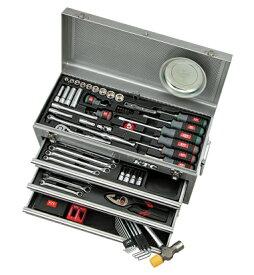 京都機械工具(KTC) ツールセット ツールチェスト シルバー 69点組 SK36920XS (SK SALE 2020)