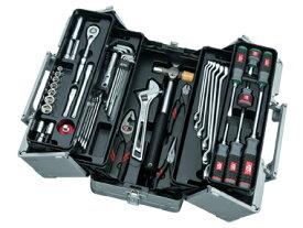 京都機械工具(KTC) ツールセット 両開きメタルケース シルバー 56点組 SK35620W (SK SALE 2020)