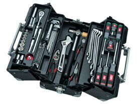 京都機械工具(KTC) ツールセット 両開きメタルケース ブラック 56点組 SK35620WGBK (SK SALE 2020)