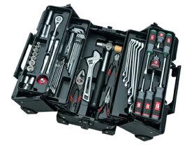 京都機械工具(KTC) ツールセット 両開きメタルケース ブラック 56点組 SK35620WZGBK (SK SALE 2020)