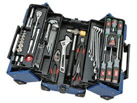 京都機械工具(KTC) ツールセット 両開きメタルケース シーベッドブルー 56点組 SK35620WZSBB (SK SALE 2020)