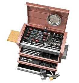 京都機械工具(KTC) ツールセット ツールチェスト ローズゴールド×シルバー 68点組 SK36820ERG (SK SALE 2020)