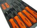 Snap-on(スナップオン) 樹脂製スクリュードライバーセット7ピース(オレンジ) ★SDDX70AO