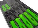 Snap-on(スナップオン) 樹脂製スクリュードライバーセット 7ピース(グリーン) ★SDDX70AG