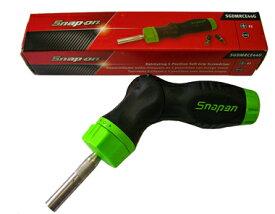 Snap-on スナップオン 5-ポジションラチェッテングドライバー(グリーン) ★SGDMRCE44G