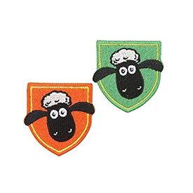 ワッペン パイオニア Shaun the Sheep 1袋2柄各1枚入 合計2枚3袋セット シール・アイロン接着両用タイプ HS500-HS08