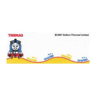 ネームラベル トーマス N-82 1台紙3枚入り 5台紙セット アイロン接着 オリムパス ワッペン