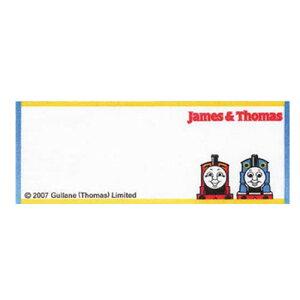ネームラベル トーマス N-85 1台紙3枚入り 5台紙セット アイロン接着 オリムパス ワッペン