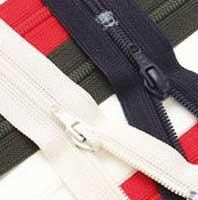 【送料無料】 YKK フラットニットファスナー 35センチ 同色5本袋入り価格 ファスナー取り合わせ2袋以上で送料無料 手芸 手作り 洋裁