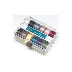 [送料無料] TOHO トーホー ビーズステッチ専用糸 12色各1個セットです Beads Stitch Thread One.G サイズ330dtex 長さ50ヤード(約46m) 12色各1個セットです PT-1001 手芸 手作り 洋裁