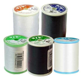 タイヤー 絹糸 フジックス大巻 絹100% 200m 500m 600m 800m 1200白黒