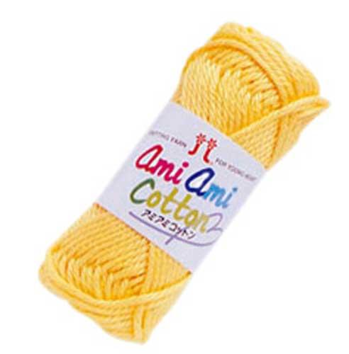 ハマナカ アミアミコットン 同色5玉1袋 並太 hamanaka AMI-AMI COTTON 手編みミサンガ