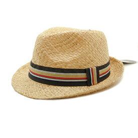 Henschel ヘンシェル ストローハット メンズ レディース ハット ラフィア STRAW HAT 中折れハット リボン 麦わら 春 夏 ナチュラル UVカット帽子 30代 オシャレ 中折れ帽子 中折れ帽 ギフト プレゼント
