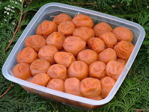 古道の梅屋 梅干/梅干し カツオと昆布の風味 紀州南高梅 味梅 800g