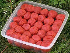 古道の梅屋 しそ梅 赤紫蘇梅干し 紀州南高梅 本格しそ漬け梅干 1kg