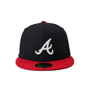 NewEra ニューエラ キャップ 帽子 ぼうし お洒落 おしゃれ 野球 メンズ レディース オーセンティック アトランタ・ブレーブス NE AUTHEN ATLBRA