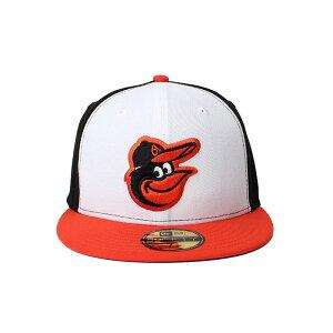 NewEra ニューエラ キャップ 帽子 ぼうし お洒落 おしゃれ 野球 メンズ レディース オーセンティック ボルチモア・オリオールズ NE AUTHEN Baltimore Orioles