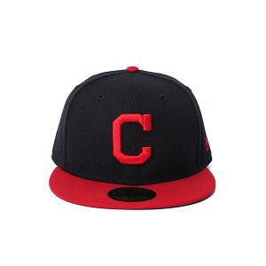 NewEra ニューエラ キャップ 帽子 ぼうし お洒落 おしゃれ 野球 メンズ レディース オーセンティック クリーブランド・インディアンス NE AUTHEN Cleveland Indians AL