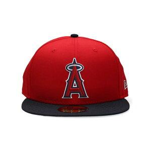 ニューエラ NEW ERA MLB オーセンティック 帽子 キャップ ロサンゼルス エンジェルス エラ 59FIFTY ゲーム ナインフィフティーNE ACPERF ANAANG