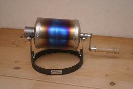 【焙煎機】 【送料無料】 チタン 製 コーヒーロースター 手回し焙煎機 WELD ONE
